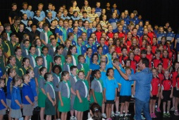 Students participate in Choral Festival