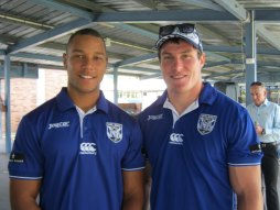 Canterbury Bulldogs speak to students about bullying
