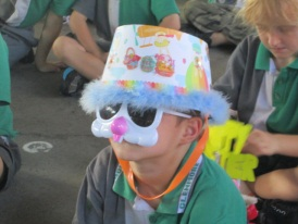 Our Easter bonnet parade was eggs-cellent!